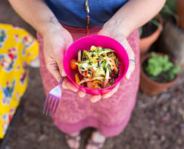 Class In Session: Spiralized Veggies From Inside This Garden Classroom