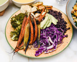 plate of veggies cold flu covid-19