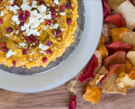 Butternut Squash Hummus + 6 Tips For Holiday Prep