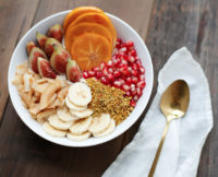 Transitional Fall Foods: Our Chai-Spiced Coconut Smoothie Bowl