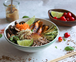 The Chalkboard Eats: 3 Ways To Build The Classic Soba Noodle Bowl