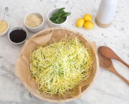 best shaved zucchini recipe