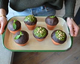 Earth Day Is For Cupcakes: Zucchini Cake + Matcha Frosting