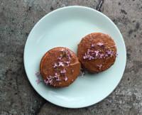 Gluten-Free Dessert Recipe: Lilac Sponge Cake With Ghee Glaze