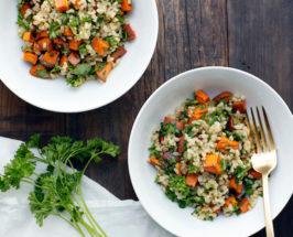 TCM Recipe Staples: Detoxifying Grain Salad With Lemon + Herbs
