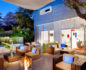 Photo of Kimber Modern outside terrace with patio furniture, low tables and outdoor fire pits