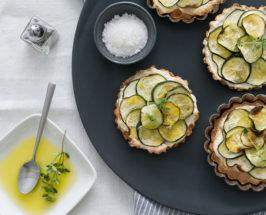 zucchini tarts