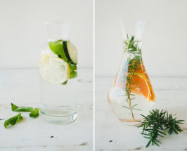 infused water carafes