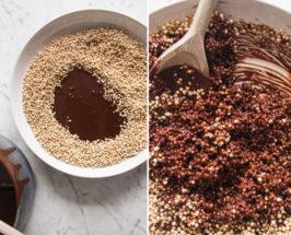 Deliciously Ella's Quinoa + Cacao Crispy Treats