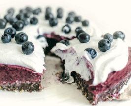 raw blueberry cake recipe