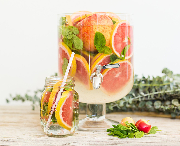 3 Infused Water Ideas To Keep Holiday Guests Hydrated