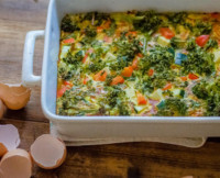 This Veggie Breakfast Bake Will Turn You Into A Morning Person