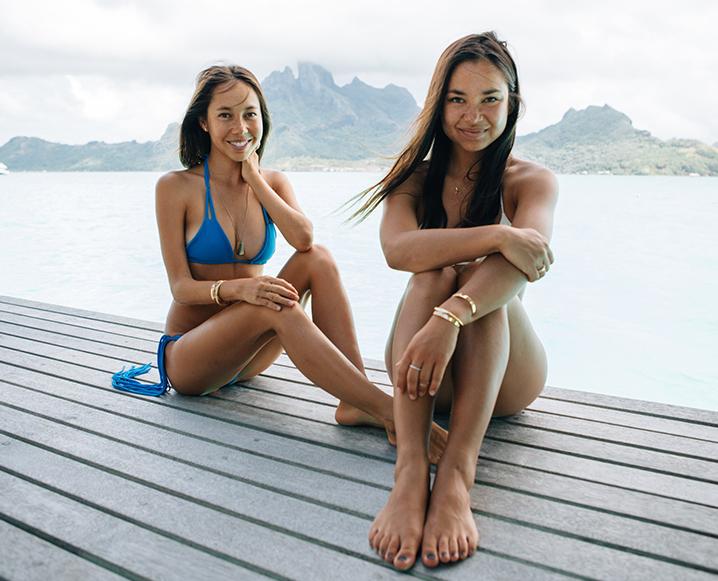 MIKOH swimwear founders