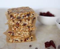 Pamela Salzman's Gluten-Free No Bake Breakfast Bars