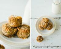 Sweet Potato Breakfast Muffins With Ginger + Hazelnut Flour