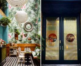 restaurant wallpaper
