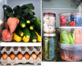 inside the fridge of laurel gallucci