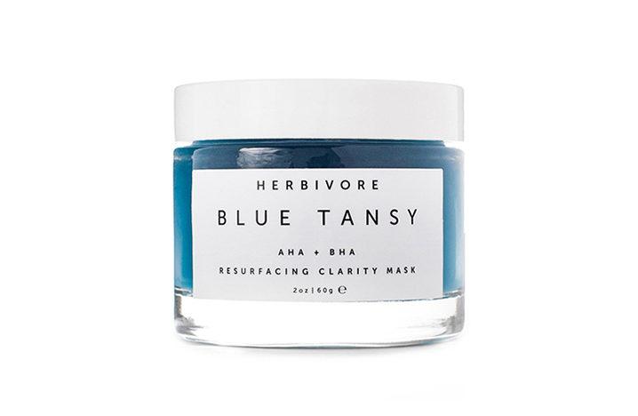 Herbivore Blue Tansy natural skincare ingredients