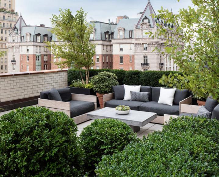 nyc penthouse terrace