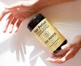 bottle of Sun Potion Yin power Formula