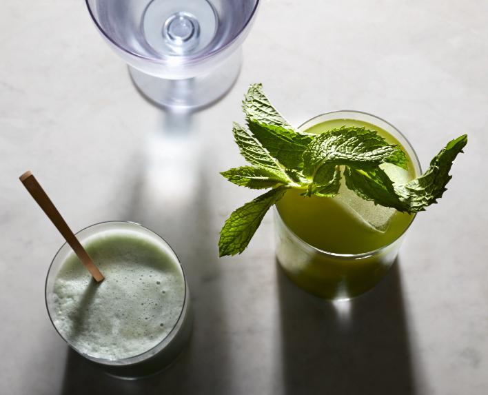 Green Mint matcha Beauty Tea