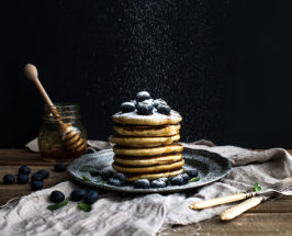 Chai-Spiced Protein Pancakes With Quinoa Flour