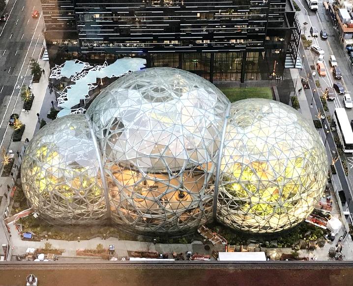 amazon spheres in seattle washington