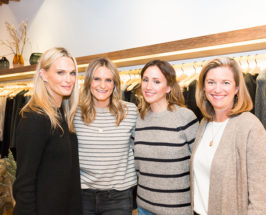 self care panel with molly Sims