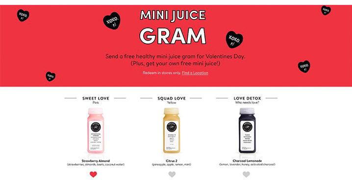pressed juicery valentines
