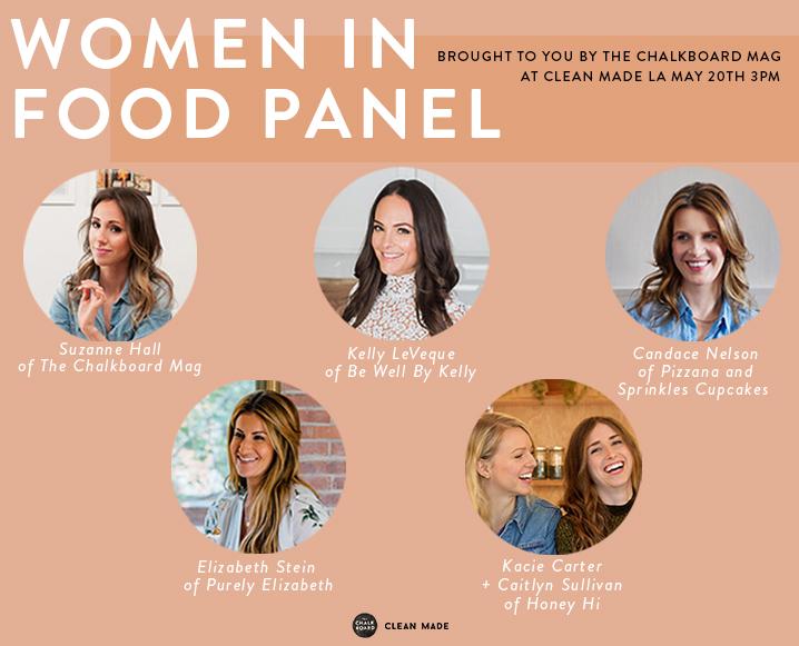 Clean Made LA women in food panel