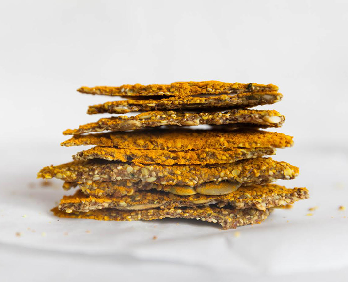 healthy seed crackers recipe