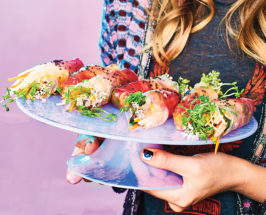 unicorn food cookbook kat odell summer roll recipe