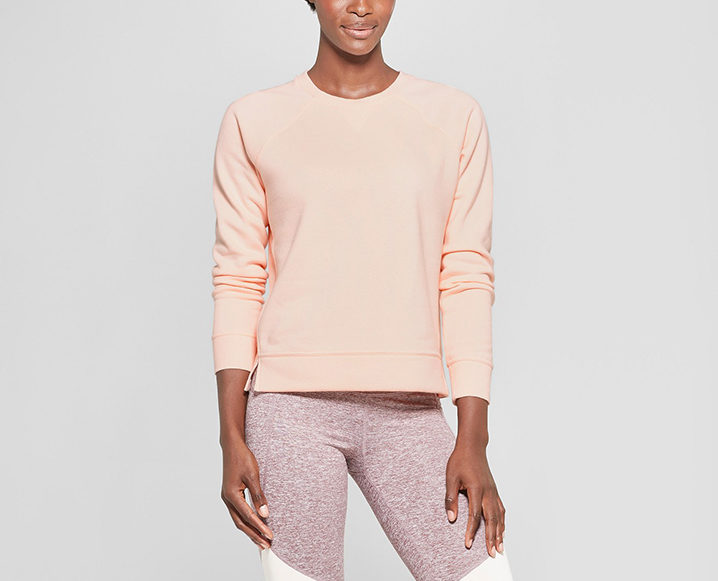 fitnesswear on a budget CHAMPION FLEECE SWEATSHIRT