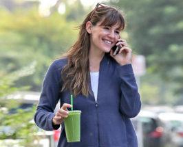 Jennifer Garner fitness smoothie