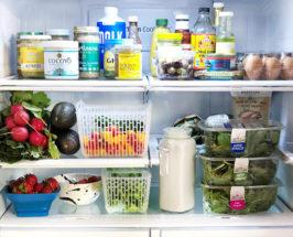 Nutritionist Kelly LeVeque fridge