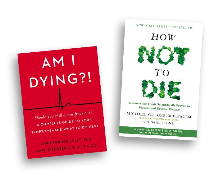 Wellness Hypochondriac book reccomendations