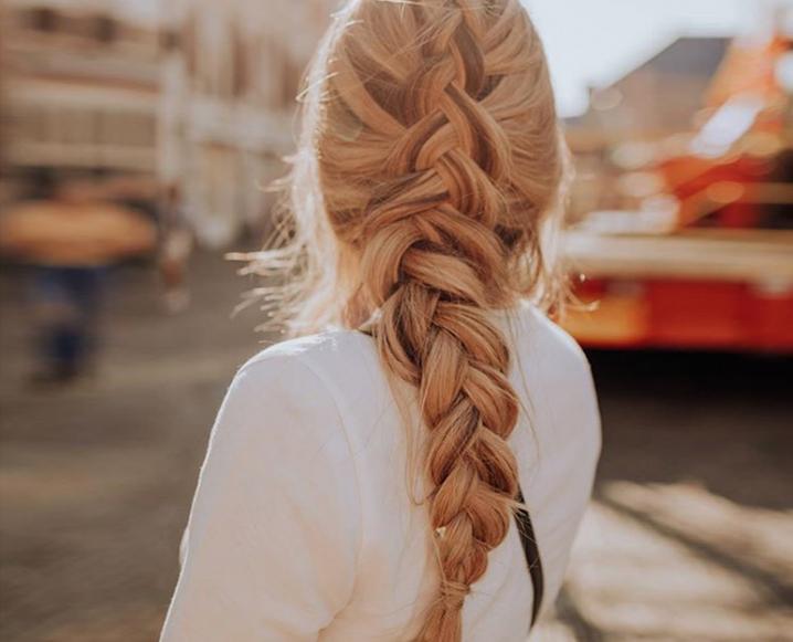 Braided hair representing Healthy Hair supplements
