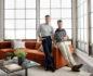 2 men in a living room