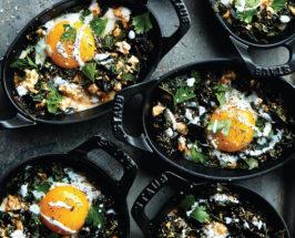 Kale Shakshuka recipe