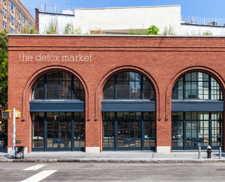 the detox market new york flagship store exterior