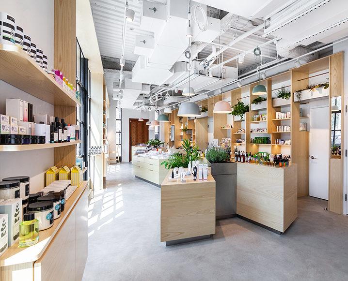 the detox market new york flagship store interior