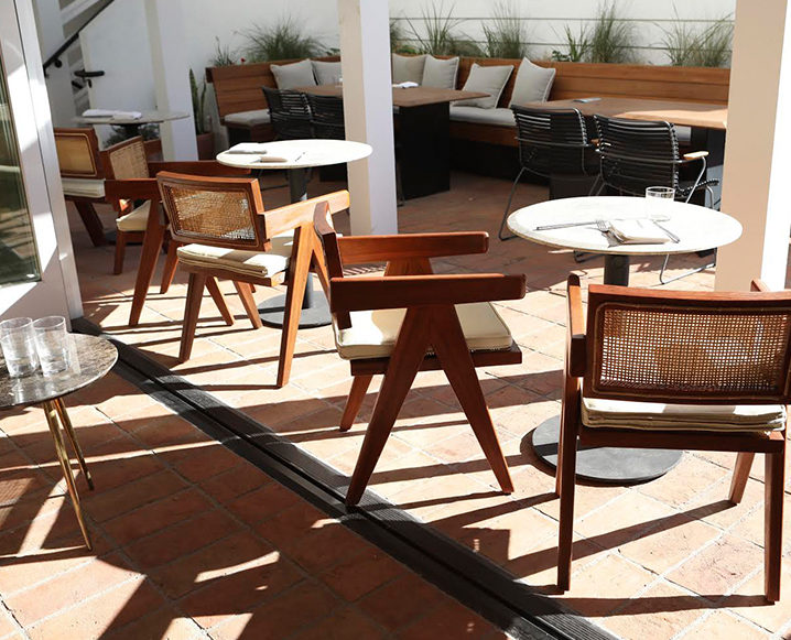 hotel joaquin tables and chairs