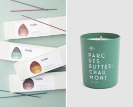 candles and incense to make home smell like fall