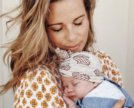 sophie jaffe holding newborn Postpartum Advice