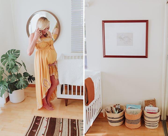 Eco-Friendly Nursery toy baskets