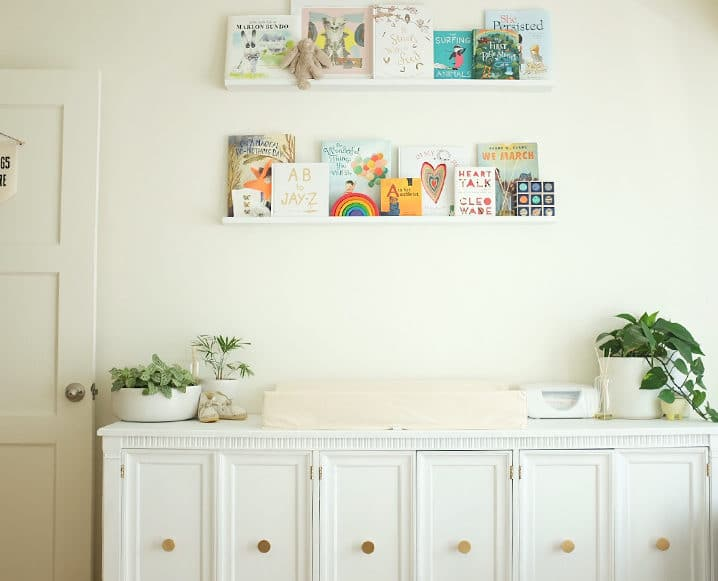 Eco-Friendly Nursery book shelf