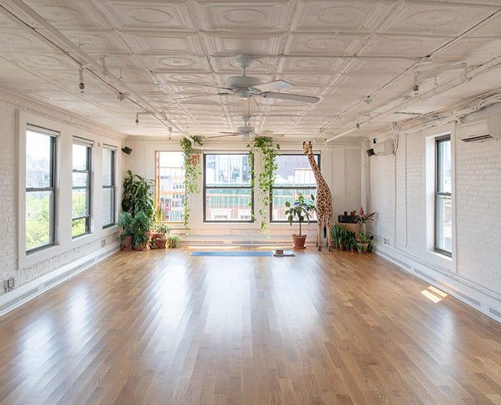 healthy guide to nyc sky ting yoga studio