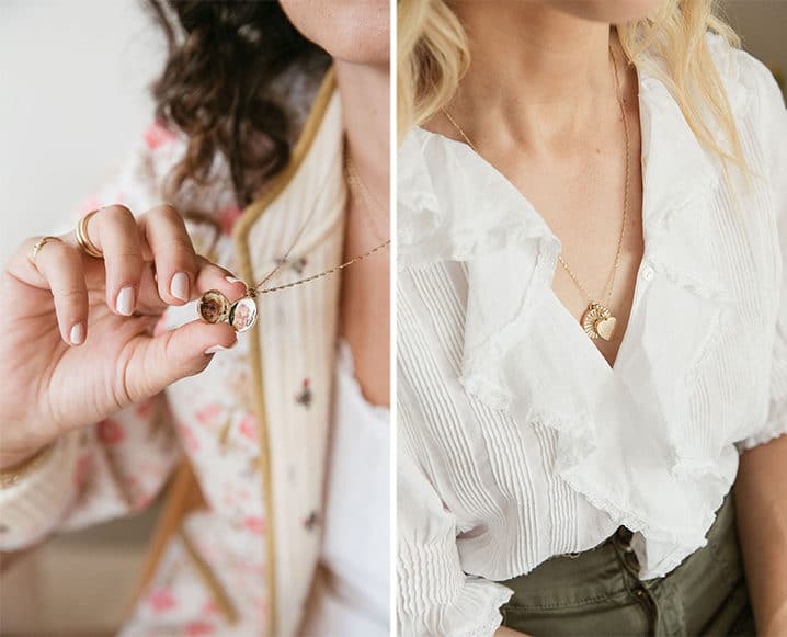 gold Friendship Necklaces lockets
