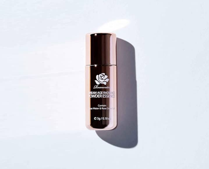 Winter Beauty Staples peach and lily powder essence