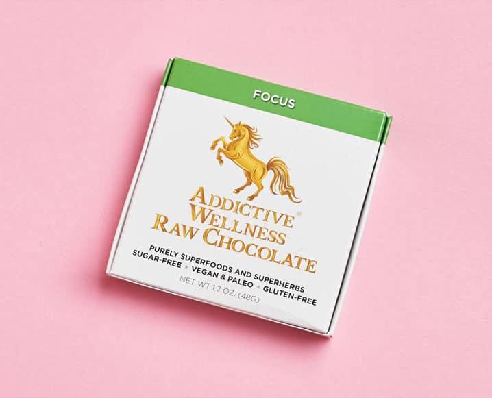 addictive wellness chocolates